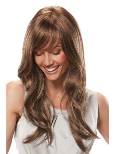 Monofilament Auburn Wavy Cheapest African American Wigs
