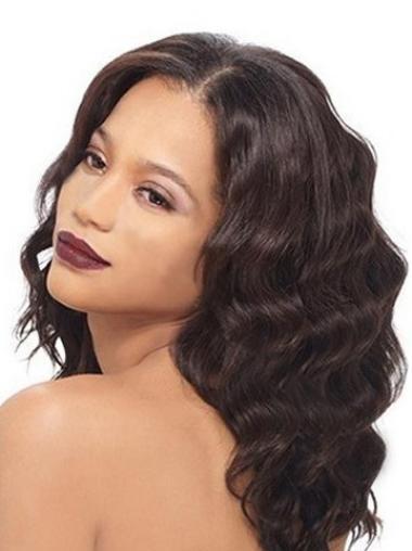 Amazing Auburn Wavy Long Lace Front Wigs