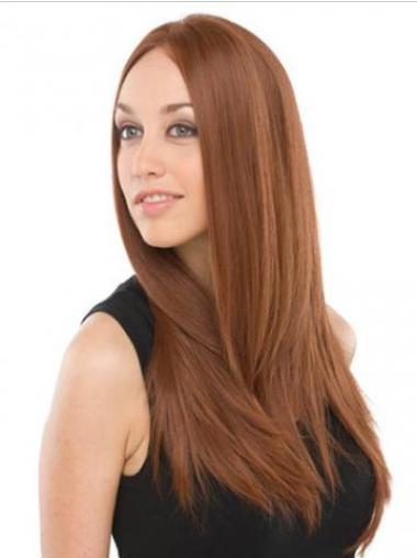Lace Front Auburn Straight Impressive Celebrity Wigs