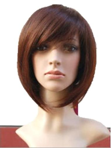 Wholesome Auburn Straight Chin Length Wigs