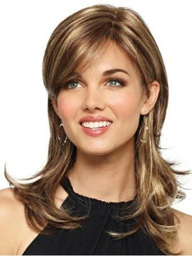 New Brown Wavy Long Synthetic Wigs