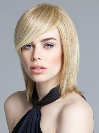 Lace Front Blonde Straight Top Bob Wigs