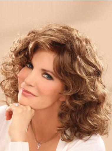 Lace Front Brown Wavy Good Classic Wigs
