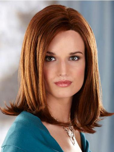 Best Auburn Straight Shoulder Length Synthetic Wigs