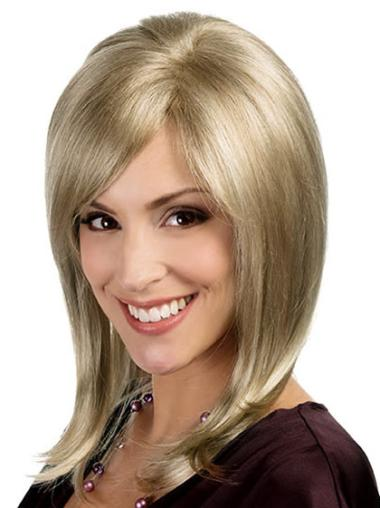 Monofilament Blonde Straight Discount Lace Wigs