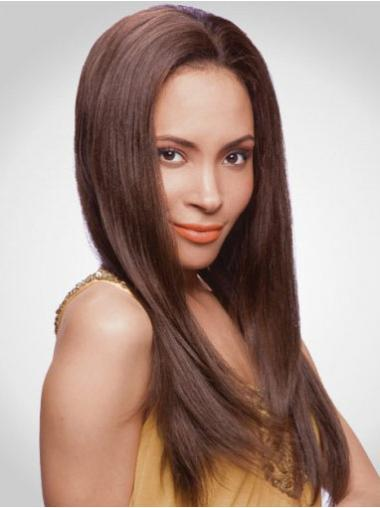 Lace Front Auburn Straight Convenient Human Hair Lace Front Wigs