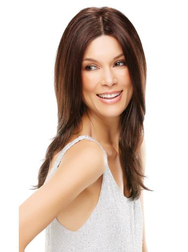 Sassy Auburn Straight Long Lace Front Wigs