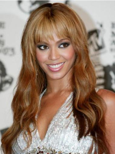 Comfortable Auburn Wavy Long Beyonce Wigs