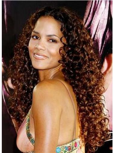 Lace Front Auburn Curly Incredible Glueless Lace Wigs