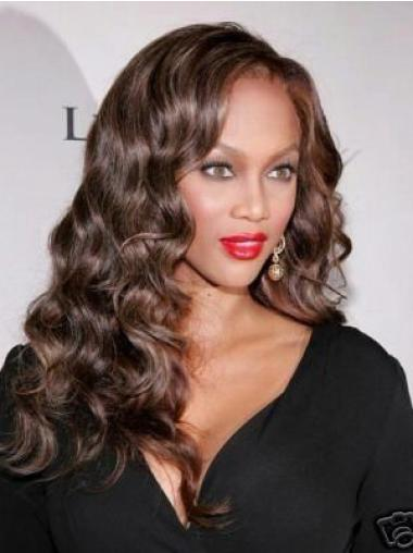Lace Front Brown Curly Glamorous Celebrity Lace Wigs