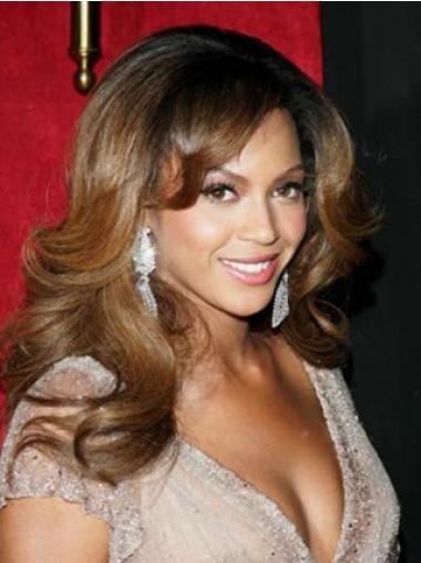 Great Brown Wavy Long Glueless Full Lace Wigs