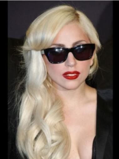 Comfortable Blonde Wavy Long Lady Gaga Wigs