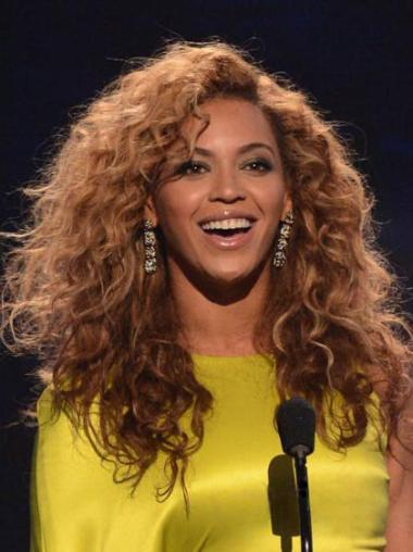Cheapest Auburn Curly Long Beyonce Wigs