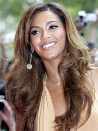 Fashionable Brown Wavy Long Beyonce Wigs