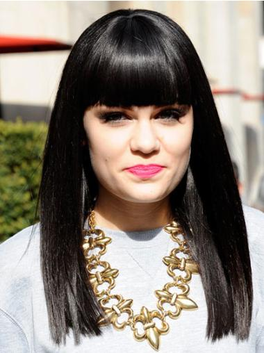 Fabulous Black Straight Long Jessie J Wigs