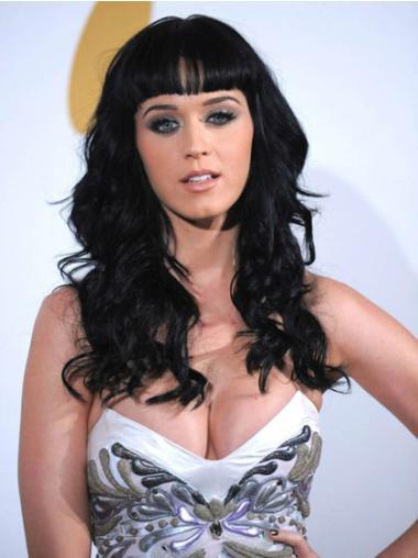 New Black Wavy Long Katy Perry Wigs