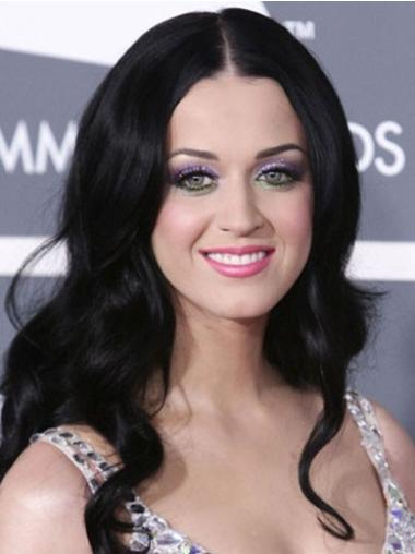 Style Black Wavy Long Katy Perry Wigs