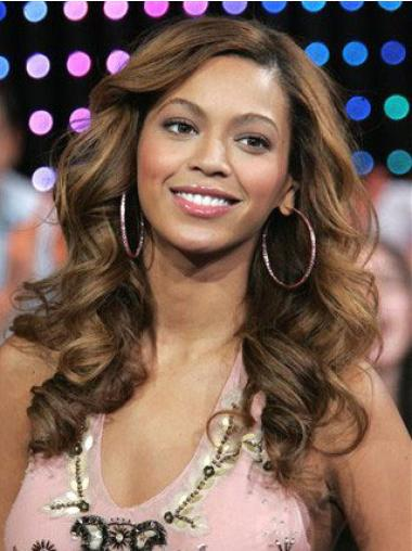 Lace Front Brown Wavy Preferential Beyonce Wigs