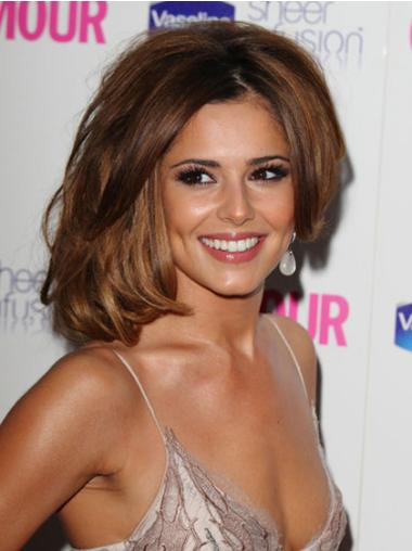 Lace Front Brown Wavy Glamorous Cheryl Cole Wigs