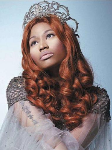 Hairstyles Auburn Curly Long Nicki Minaj Wigs