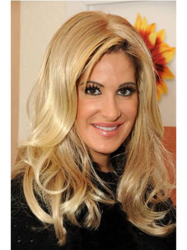 Lace Front Blonde Wavy Affordable Kim Zolciak Wigs