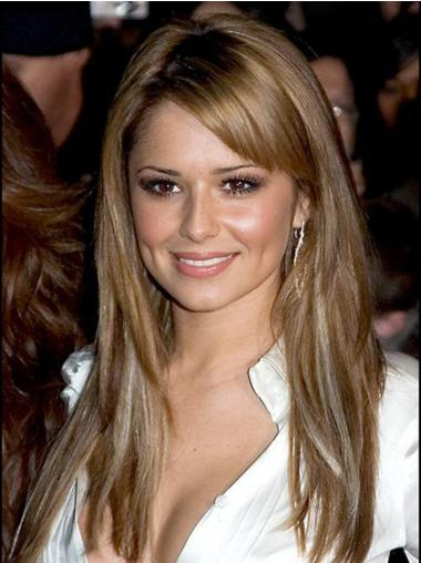 Easeful Blonde Straight Long Cheryl Cole Wigs