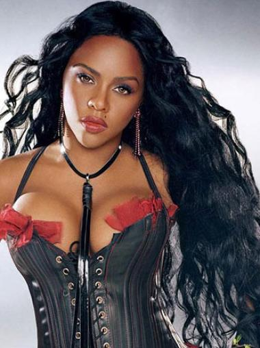 Suitable Black Wavy Long Nicki Minaj Wigs