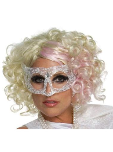 Lace Front Blonde Curly Convenient Lady Gaga Wigs