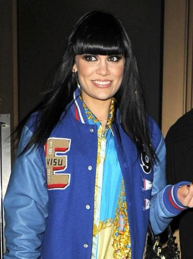 Lace Front Black Straight Durable Jessie J Wigs