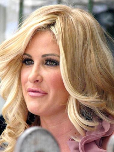 Unique Blonde Wavy Long Kim Zolciak Wigs