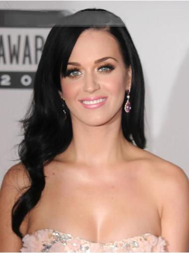 Lace Front Black Wavy Trendy Katy Perry Wigs