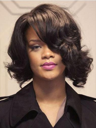 Lace Front Brown Wavy Tempting Rihanna Wigs