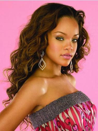 Braw Brown Wavy Long Rihanna Wigs