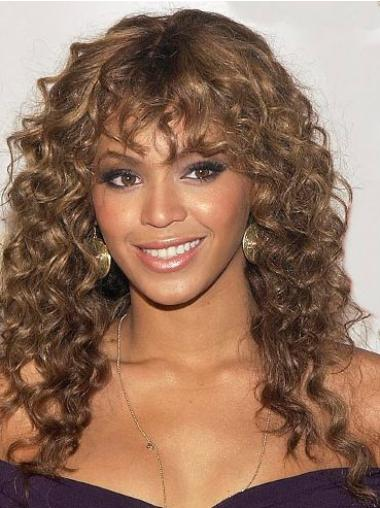 Cheap Auburn Curly Long Beyonce Wigs