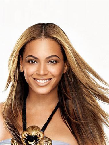 Stylish Brown Straight Long Beyonce Wigs