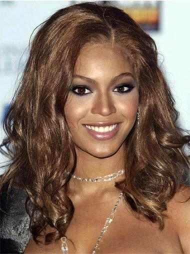 Lace Front Brown Wavy Easeful Beyonce Wigs