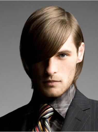 Lace Front Brown Straight Discount Men Wigs