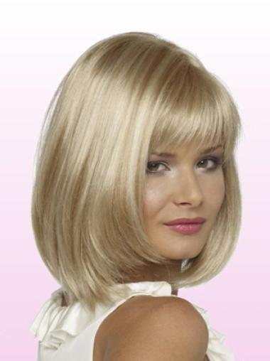 Lace Front Blonde Straight Graceful Petite Wigs