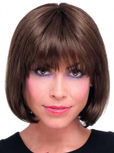 Lace Front Auburn Straight Flexibility Remy Human Lace Wigs