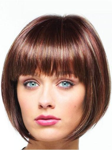 Lace Front Auburn Straight Cheapest Celebrity Wigs