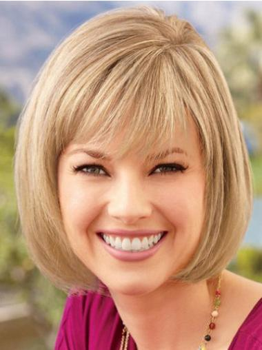 Blonde Bobs Straight Best Lace Wigs