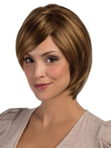 Brown Bobs Straight Perfect Lace Wigs