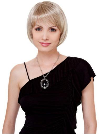 Lace Front Blonde Straight Refined Petite Wigs