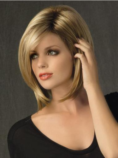 Blonde Bobs Straight Cheap Lace Wigs
