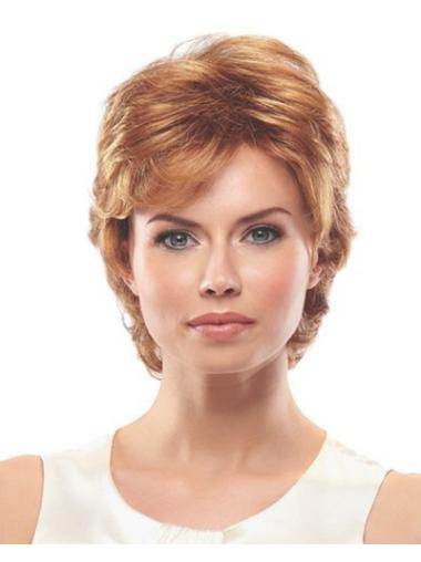 Easy Synthetic Wavy Layered Short Wigs