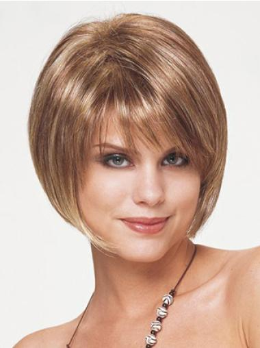 Impressive Bobs Synthetic Straight Short Wigs