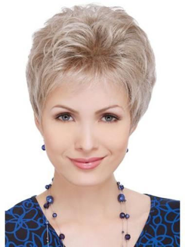 Lace Front Blonde Wavy Stylish Celebrity Wigs