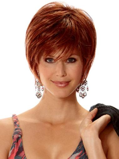 Style Synthetic Straight Layered Short Wigs