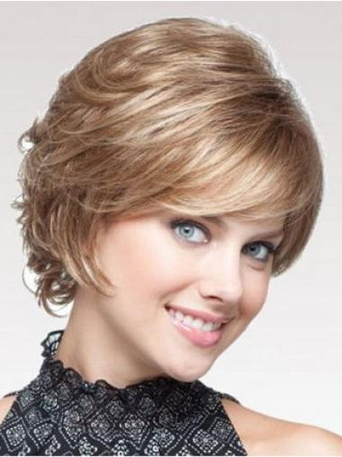 Perfect Blonde Wavy Short Classic Wigs