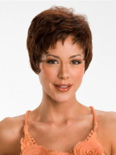 Good Synthetic Straight Boycuts Short Wigs